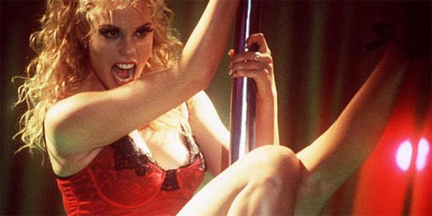 Elizabeth Berkley played a poll dancer in the film Showgirls.