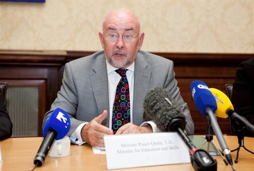 Education Minister Ruairi Quinn