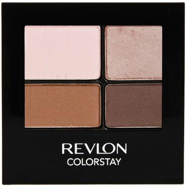 Revlon's ColorStay 16 Hour Eyeshadow Quads