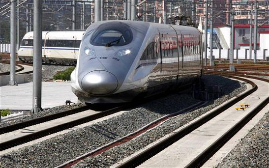 The new trains will cut the journey time on the 570-mile line from nine hours to just three-and-a-half Photo: Reuters