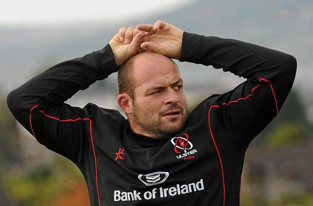 Rory Best: urging Ulster forward.