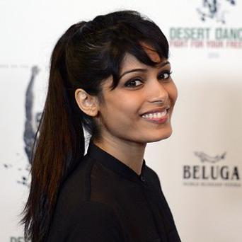 Freida Pinto is working with choreographer Akram Khan on the new film