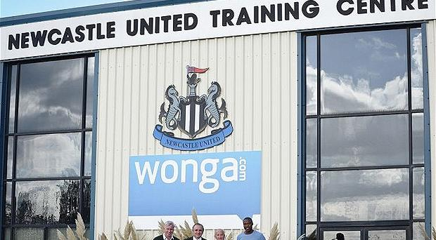 Under pressure: Wonga's sponsorship of Newcastle United has attracted criticism. Photo: Getty Images