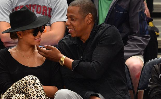 Beyonce and Jay-Z are as crazy for each other as their song suggests.