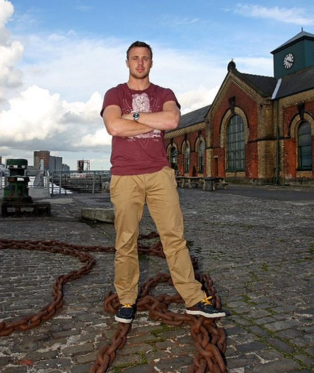 Tommy Bowe at the Launch of the 'Lloyd&Pryce-The Tommy Bowe Collection' A/W '12