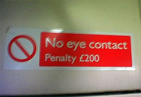 Photo courtesy of Stickers on the Central Line