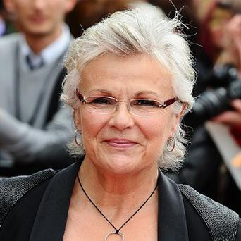 Julie Walters pulled some strings to make sure her corset was comfy