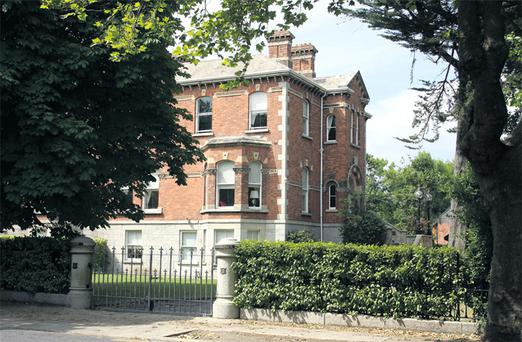 2 Ailesbury Road, Dublin 4, former home of former hunger striker and property developer Tom McFeely which NAMA is expected to bring to the market