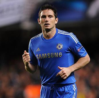 Frank Lampard is in the final year of his deal with Chelsea
