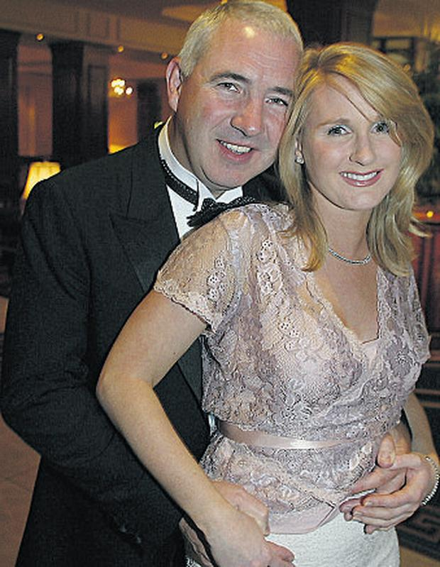 Sean Dunne and his wife Gayle