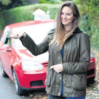 Laura Butler faces paying €300 more on her car insurance due to new EU directive