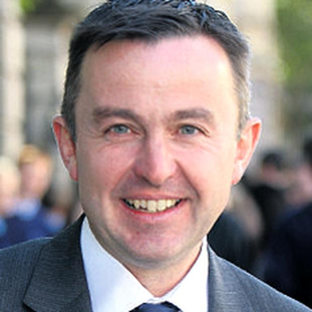 Brian Hayes: urging people to avail of mortgage relief deal