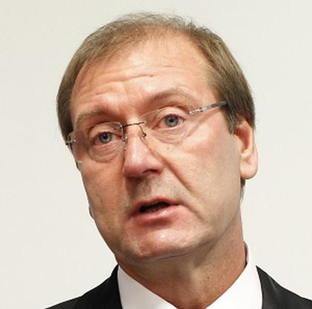 Viktor Uspaskich's Lithuanian Labour Party is leading in the polls (AP/Mindaugas Kulbis)