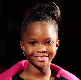 Quvenzhane Wallis at the BFI London Film Festival screening of Beasts Of The Southern Wild in Leicester Square