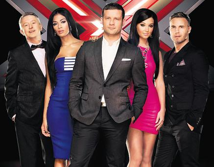 Louis Walsh, Nicole Scherzinger, Dermot O'Leary, Tulisa and Gary Barlow are experts at playing the television ratings game