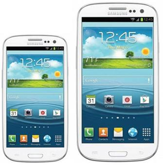 Samsung's Galaxy SIII Mini is a 4'' version of the larger S3