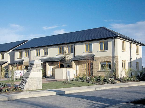 Silken Park, Citywest, Dublin.Two-, three- and four-bed houses are for sales from €180,000 to €295,000