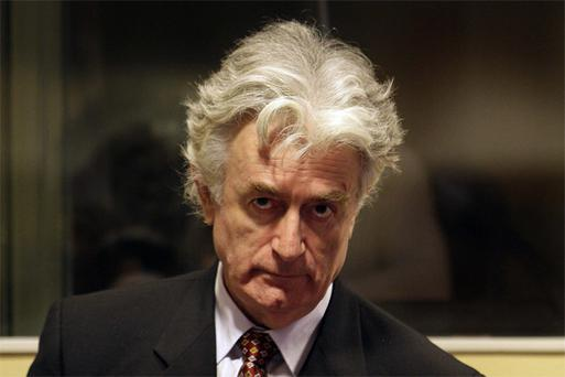 Radovan Karadzic. Photo: AP