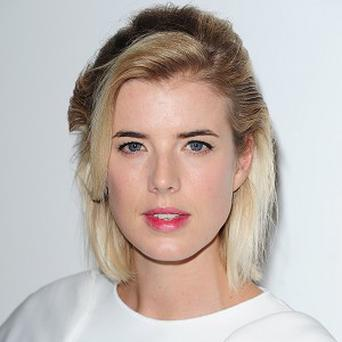 Agyness Deyn said she's thrilled to be starring in Sunset Song