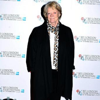 Dame Maggie Smith stars in Dustin Hoffman's new film Quartet