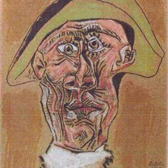 The Picasso stolen in Rotterdam (AP)