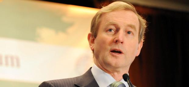 An Taoiseach Enda Kenny TD pictured in Philadelphia, Pennsylvania where he gave the keynote address to the US Ireland Legal Symposium hosted by the Brehon Law Society.Photo: Liam Sweeney