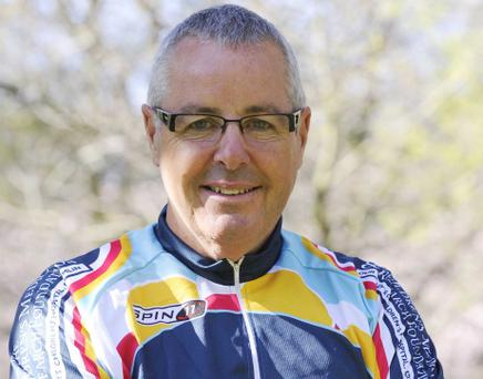 26/03/2012. Pictured are sporting legends Stephen Roche at the media launch of Kilometres for Kids in aid of Our Ladys Childrens Hospital, Crumlin. Photo: Sasko Lazarov/Photocall Ireland