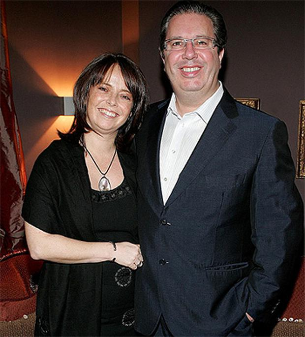 Melanie Verwoerd and Gerry Ryan