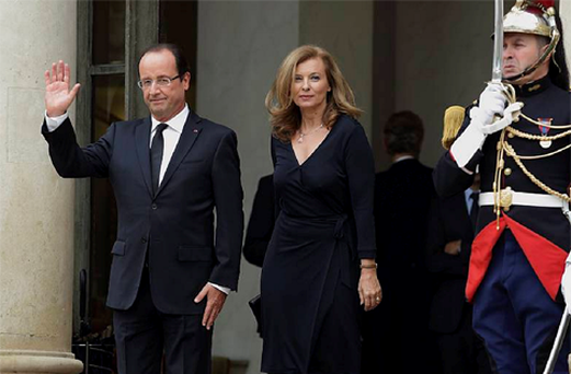 Valerie Trierweiler has sought to make a fresh start as the First Lady of France.