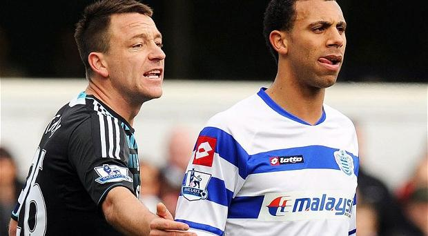 Punished: John Terry has accepted four-match ban and £220,000 fine