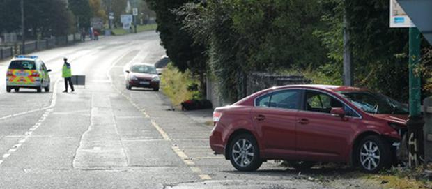 21/10/2012The scene of an accident on the N17 near Tuam. Picture Ray Ryan