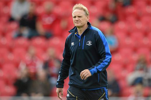 Leinster head coach Joe Schmidt. Photo: Sportsfile