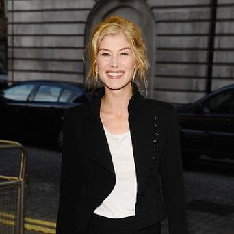 Rosamund Pike said she's proud to have been a Bond girl