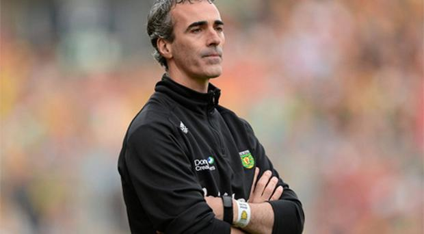 Donegal manager Jim McGuinness is in favour of a proposal not to ban players from the All-Ireland final for an accumulation of cards