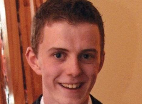 Missing Cormac Clare. Photo: Garda Press Office.