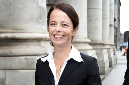 Melanie Verwoerd, former partner of Gerry Ryan