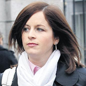 Aoife McKelvey: won damages against dry cleaners