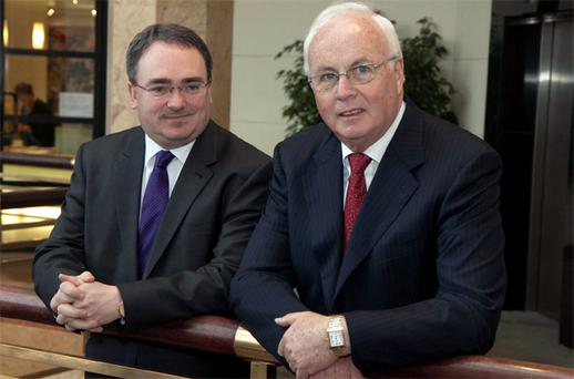 Brendan McDonagh, NAMA chief executive and Frank Daly, NAMA chairman