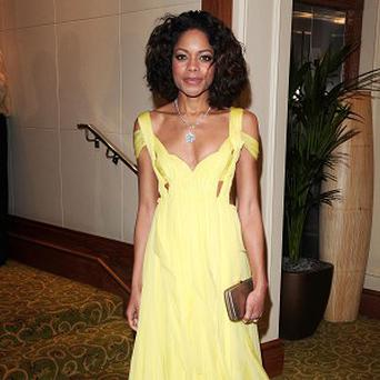 Naomie Harris had a tough time at school and university