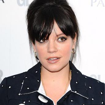Lily Allen says she has no regrets over some of the controversial things she has said in the past