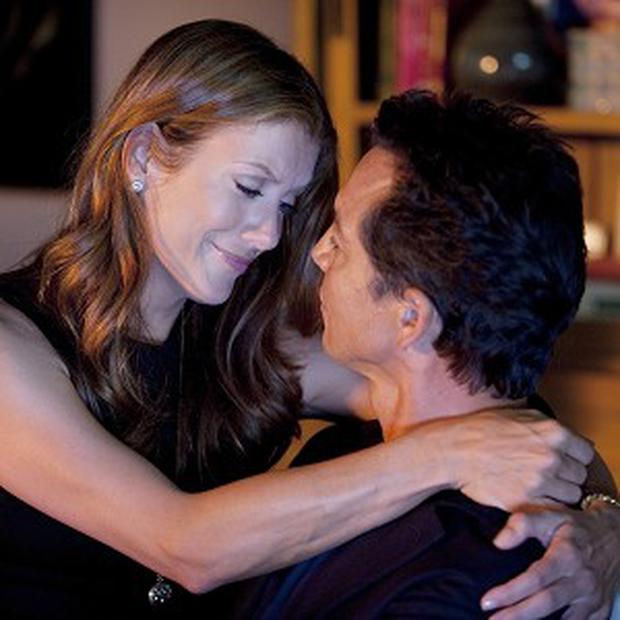 Kate Walsh, seen here with Benjamin Bratt, in Grey's spin-off, Private Practice. (AP)
