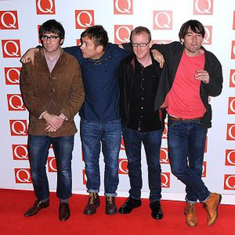 Blur were named best live act at the Q Awards