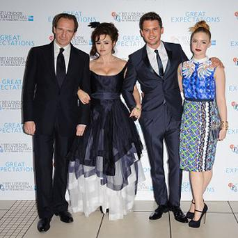 Ralph Fiennes, Helena Bonham Carter, Jeremy Irvine and Holliday Grainger star in Great Expectations