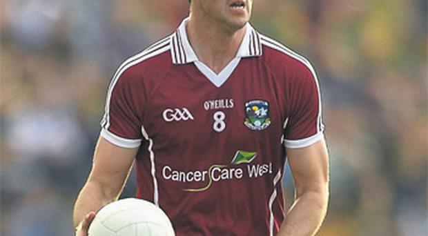 Galway's Joe Bergin has called time on his inter-county career