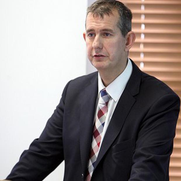Funding will be open to companies which choose Northern Ireland to carry out research and development, health minister Edwin Poots said