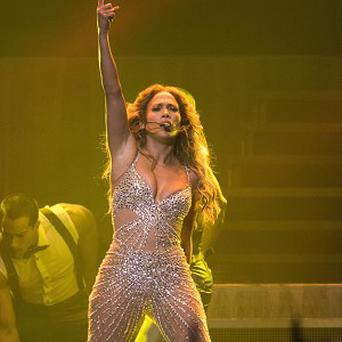 Jennifer Lopez has been falling out of her stage costumes again
