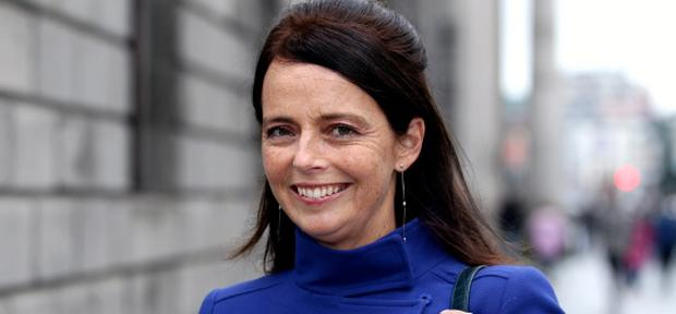 VERWOERD: (MELANIE); THE LATE GERRY RYAN'S PARTNER re LEGAL BID TO HALT PUBLICATION OF HER BOOK, WHEN WE DANCE - SETTLED,HIGH COURT, DUBLIN, (23/10/12)***see Hi Ct story.PIC. SHOWS: ALL SMILES ! MELANIE VERWOERD, THE LATE GERRY RYAN'S PARTNER LEAVING COURT YESTERDAY (WED.) AFTER THE HEARING.(PIC: COURTPIX)