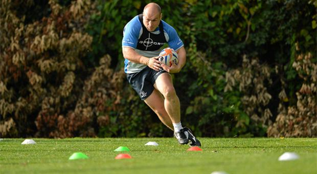 Declan Kidney will have no hesitation in throwing Richardt Strauss in at the deep end against his native South Africa next month.