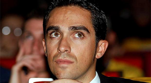 Spaniard Alberto Contador has expressed support for the disgraced Lance Armstrong.