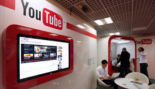 YouTube has topped a list of brands students 'love'.